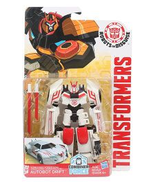 Transformers Combiner Force RID Autobot Drift Figure Red White - 12.5 cm