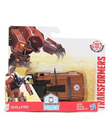 Transformers Combiner Force RID Quillfire Figure Car - Brown