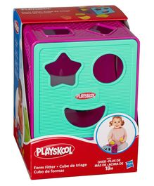 Playskool Form Fitter Shape Sorter - Purple Aqua