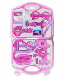 Playmate Doctor Set With Light And Sound - Pink