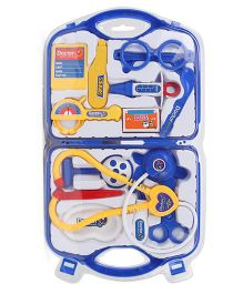 Playmate Doctor Set With Light And Sound - Blue