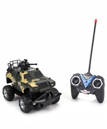 Remote Control Military Toy Car - Green