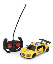 Remote Controller Super Power Police Car - Yellow