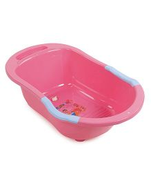 Baby Bath Tub Printed - Pink Blue