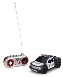 Die Cast Remote Controlled Police Car - Black White