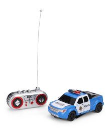 Die Cast Remote Controlled Police Car - Blue White