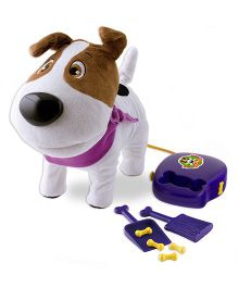 IMC Popomax The Naughtiest Puppy Toy - White Brown