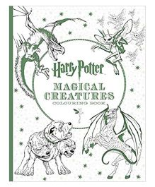Harry Potter Magical Creatures Coloring Book - English