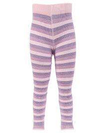 Mustang Stockings Tights Stripe Design - Pink