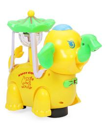 Playmate Happy Elephant - Yellow Green
