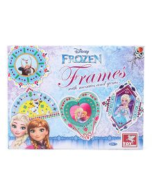 Disney Frozen Frames With Mosaic & Gems - Blue