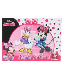 Disney Minnie Sequin Pictures - Pink