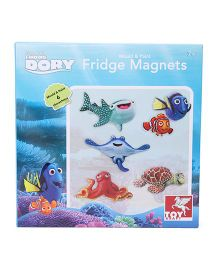 Disney Finding Dory Mould & Paint Fridge Magnets - Multicolor