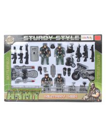 Army Military Playset - Green Grey