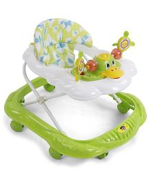 Musical Baby Walker Duck Design - Green White