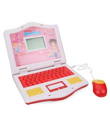 Language Learner Laptop With Mouse - Red