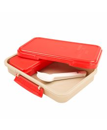 jaypee Lunchflix Lunch Box - Red Beige