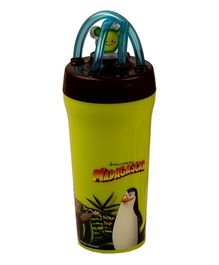 Jaypee Tumbler With Straw Madagascar Print Green - 300 ml
