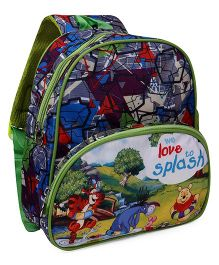 Disney Winnie The Pooh Pooh School Bag Multi Color - 12 inch