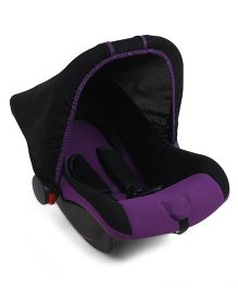 Infant Car Seat Cum Carry Cot - Purple And Black