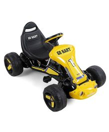 Pedal Go-Kart Ride On - Yellow Black
