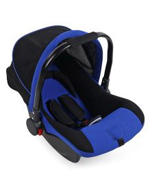 Rear Facing Car Seat Cum Carry Cot - Blue And Black