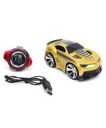 Turboz Smartwatch Voice Command Car - Yellow