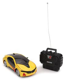 Smiles Creation Radio Control Racing Toy Car - Yellow