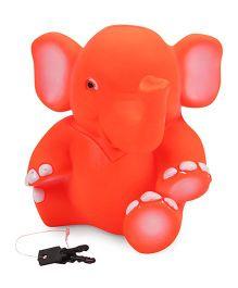 Ratnas Elephant Money Bank Orange - 16 cm