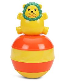 Ratnas Baby Touch Lion Roly Poly - Yellow Orange Green