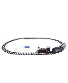 Classic Remote Control Train Set - Black Blue
