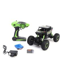 Classic Remote Controlled DX Storm Racing Car - Green Black