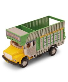 Centy Pull Back Public Toy Truck - Green Yellow