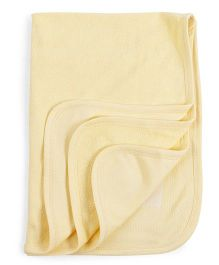 Mee Mee Towel Elephant Embroidery - Yellow