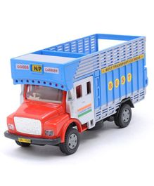 Centy Pull Back Public Toy Truck - Blue Red