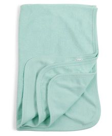 Mee Mee Towel Ship Embroidery - Green