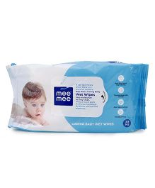 Mee Mee Caring Wet Wipes - 72 Pieces