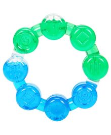 Mee Mee Water Filled Teether MM1460 A 9 - Green & Blue