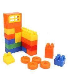 Baby Block Game Multi Color - 160 Pieces