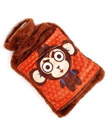 Baby Oodles Hot & Cold Water Bag Monkey Print - Brown