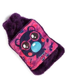 Baby Oodles Hot & Cold Water Bag Teddy Print - Purple