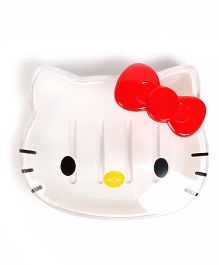 Baby Oodles Hello Kitty Shaped Soap Case - White