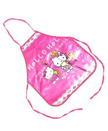 Baby Oodles Hello Kitty Apron - Pink