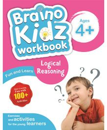 Braino Kidz Workbook Logical Reasoning - English