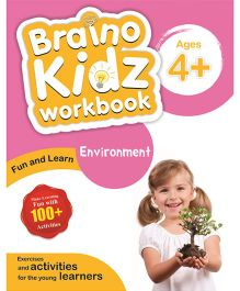 Braino Kidz Workbook Environment Orange Pink - English
