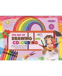 Drawing And Colouring Book 3 - English