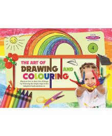 Drawing And Colouring Book 4 - English