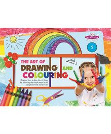 Drawing And Colouring Book 5 - English