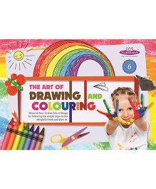 Drawing And Colouring Book 6 - English
