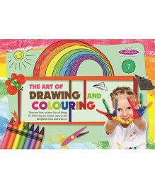 Drawing And Colouring Book 7 - English